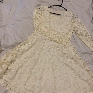 White Lacey Dress